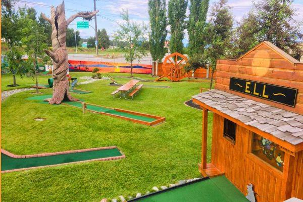 Image of Mini Golf at Elizabeth Lake Lodge in Cranbrook